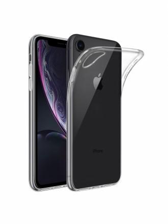 """Skaidrus silikoninis dėklas Apple iPhone XR telefonui """"Clear 1.0mm"""""""
