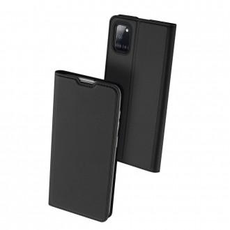 """Juodas atverčiamas dėklas Samsung Galaxy A31 telefonui """"Dux Ducis Skin"""""""