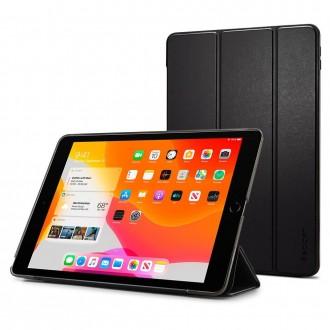 """Juodas atverčiamas dėklas iPad 7/8 10.2 2019/2020 """"SPIGEN SMART FOLD"""""""