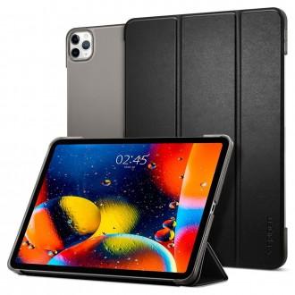 """Juodas atverčiamas dėklas iPad PRO 12.9 2018/2020 """"SPIGEN SMART FOLD"""""""