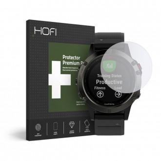 Skaidrus apsauginis stiklas Garmin Fenix 5/6/6 Pro laikrodžiui ''HOFI Hybrid''
