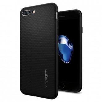 "Juodas dėklas Apple Iphone 7 Plus / 8 Plus telefonui ""Spigen Liquid Air"""