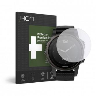 Skaidrus apsauginis stiklas Garmin Fenix 5S/6S/6S Pro laikrodžiui ''HOFI Hybrid''