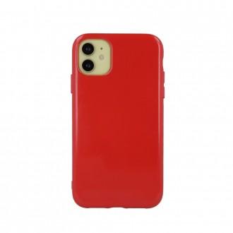 """Raudonas silikoninis dėklas """"Jelly Case'' telefonui iPhone 13 Pro"""