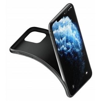 """Matinis juodas dėklas 3MK ''Matt Case"""" telefonui Apple iPhone 13 mini"""