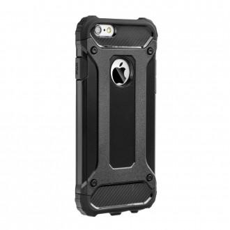 """Juodas silikoninis dėklas """"Armor Neo"""" iPhone 13 telefonui"""