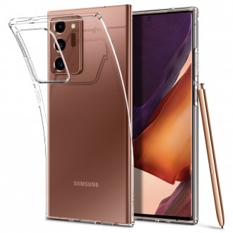 "Skaidrus dėklas Samsung Galaxy Note 20 Ultra telefonui ""Spigen Liquid Crystal"""