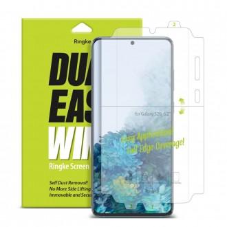 """Apsauginė ekrano plėvelė """"Ringke Dual Easy"""" Samsung Galaxy S20 telefonui"""