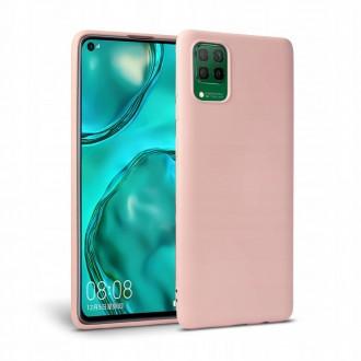 """Rožinis silikoninis dėklas Huawei P40 Lite telefonui """"Tech-protect Icon"""""""