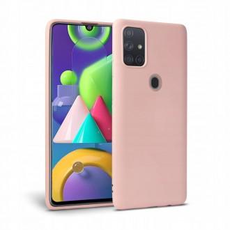 """Rausvas dėklas Samsung Galaxy M21 telefonui """"Tech-protect Icon"""""""