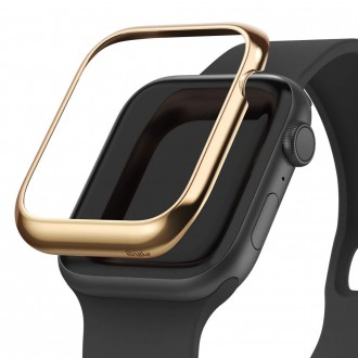 "Auksinis dėklas Apple Watch 4/5 (40MM) ""Ringke Bezel"""