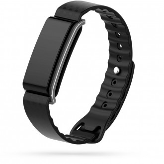 """Juoda apyrankė laikrodžiui Huawei Band A2 """"Tech-Protect Smooth"""""""