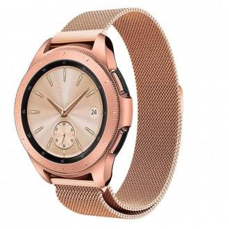 """Auksinės apyrankė laikrodžiui Samsung Galaxy Watch 42MM """"Tech-Protect Milaneseband"""""""