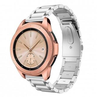 """Sidabrinė apyrankė laikrodžiui Samsung Galaxy Watch 42MM """"Tech-Protect Stainless"""""""