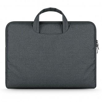 Nešiojamo kompiuterio krepšys 13''-14'' -TECH-PROTECT BRIEFCASE DARK GREY -