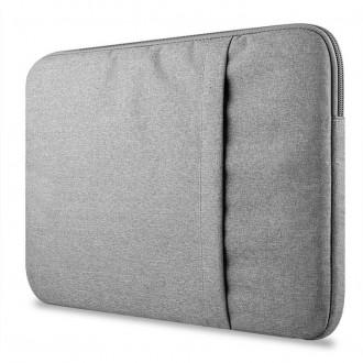 Nešiojamo kompiuterio krepšys 13''-14'' -TECH-PROTECT SLEEVE LIGHT GREY-