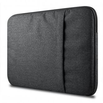 Nešiojamo kompiuterio krepšys 13''-14''    -TECH-PROTECT SLEEVE DARK GREY-