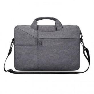 Nešiojamo kompiuterio krepšys 13''    -TECH-PROTECT POCKETBAG DARK GREY-