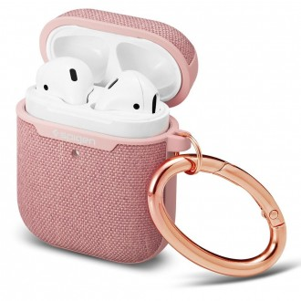 Rožinis dėklas APPLE AIRPODS Pro ''SPIGEN URBAN FIT''