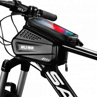 """""""WildMan"""" vandeniui atsparus dviračio krepšys ,,XXL''"""