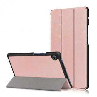 Rožinės-auksinės spalvos dėklas Huawei MatePad T8 8,0 ''TECH-PROTECT SMARTCASE''