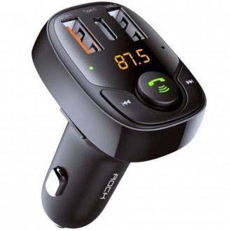 Bluetooth grotuvas / FM bangų moduliatorius (laisvų rankų įranga,įkroviklis) ''ROCK B301''