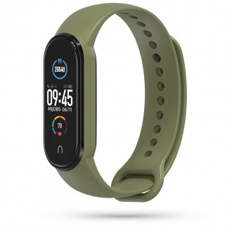 """Žalia apyrankė laikrodžiui Xiaomi Mi Smart Band 5 """"Tech-Protect Iconband"""""""