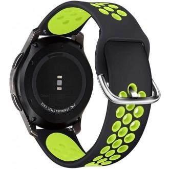 """Juoda-salotinė apyrankė laikrodžiui Samsung Galaxy Watch 3 (45MM) """"Tech-Protect Softband"""""""