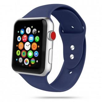 """Mėlyna apyrankė laikrodžiui Apple Watch 1/2/3/4/5/6 (42-44MM) """"Tech-Protect Iconband"""""""