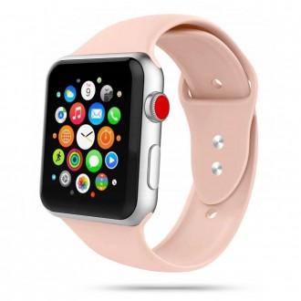 """Rausva apyrankė laikrodžiui Apple Watch 1/2/3/4/5/6 (42-44MM) """"Tech-Protect Iconband"""""""