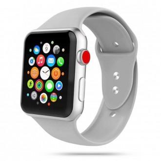 """Pilka apyrankė laikrodžiui Apple Watch 1/2/3/4/5/6 (42-44MM) """"Tech-Protect Iconband"""""""