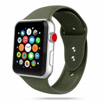 """Žalia apyrankė laikrodžiui Apple Watch 1/2/3/4/5/6 (42-44MM) """"Tech-Protect Iconband"""""""