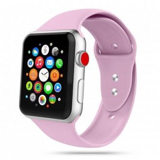 """Violetinė apyrankė laikrodžiui Apple Watch 1/2/3/4/5/6 (38-40MM) """"Tech-Protect Iconband"""""""