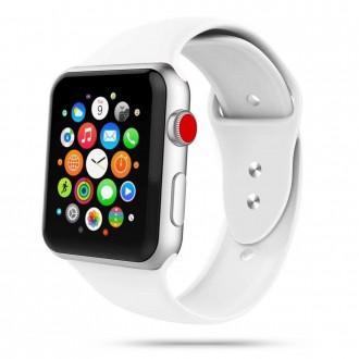 """Balta apyrankė laikrodžiui Apple Watch 1/2/3/4/5/6 (38-40MM) """"Tech-Protect Iconband"""""""