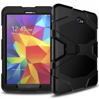 "Juodas dėklas ""Full Protect"" Samsung T580 / T585 Tab A 10.1 2016"