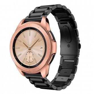 """Juoda apyrankė laikrodžiui Samsung Watch 3 (41MM) """"Tech-Protect Stainless"""""""