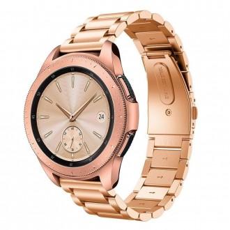 """Auksinė apyrankė laikrodžiui Samsung Watch 3 (41MM) """"Tech-Protect Stainless"""""""