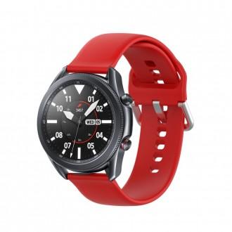"""Raudona apyrankė laikrodžiui Samsung Watch 3 (45MM) """"Tech-Protect Iconband"""""""