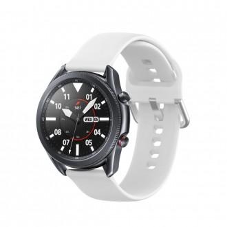 """Balta apyrankė laikrodžiui Samsung Watch 3 (45MM) """"Tech-Protect Iconband"""""""