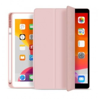 "Rausvas dėklas Ipad 7/8 10.2 2019/2020 ""Tech-Protect SC Pen"""