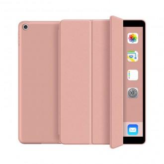 Rožinės-auksinės spalvos dėklas Ipad 7/8 10.2 2019/2020 ''TECH-PROTECT SMARTCASE''