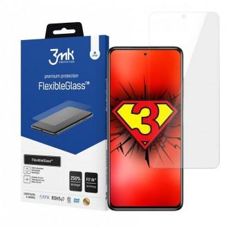 "Apsaugiinis grūdintas stiklas ""3MK Flexible Glass"" Xiaomi Poco X3 NFC telefonui"