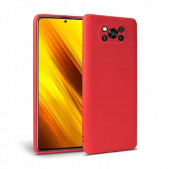 """Raudonas dėklas Xiaomi Poco X3 NFC telefonui """"TECH-PROTECT FLEXAIR"""""""