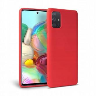"""Raudonas TECH-PROTECT dėklas """"Icon"""" telefonui GALAXY M51"""