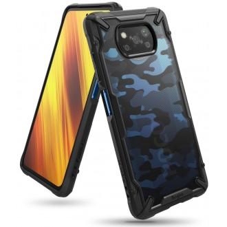 """Kamufliažinis RINGKE """"Fusion X"""" dėklas telefonui XIAOMI POCO X3 NFC"""
