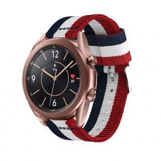 """Mėlyna-raudona apyrankė laikrodžiui Samsung Watch 3 (41MM) """"Tech-Protect Welling"""""""