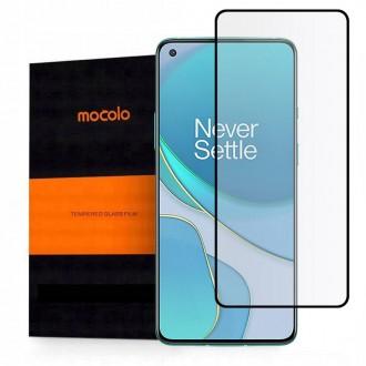"""Juodais krašteliais, apsauginis grūdintas stiklas Oneplus 8T telefonui """"Mocolo TG Full Glue"""""""