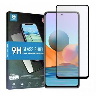 Apsauginis grūdintas stiklas juodais kraštais MOCOLO TG+FULL GLUE  telefonui Xiaomi Redmi Note 10 Pro