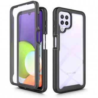 """Juodas dėklas Samsung Galaxy A22 4G telefonui """"Tech-Protect Defense 360"""""""