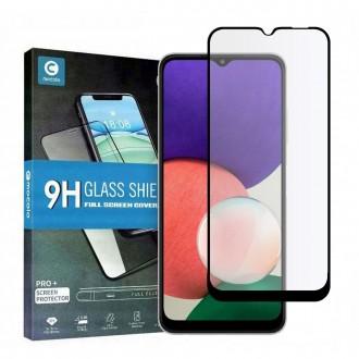Apsauginis grūdintas stiklas juodais kraštais MOCOLO TG+FULL GLUE  telefonui Samsung A22 5G